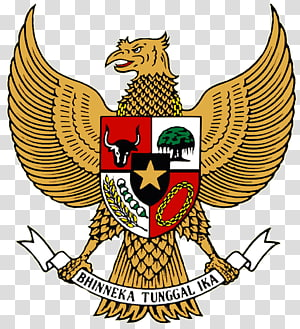 National emblem of Indonesia Pancasila Coat of arms Garuda, T-shirt PNG clipart