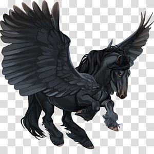 Medusa Perseus Zeus Hippocrene Pegasus, Pegasus PNG