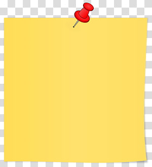 Paper Area Rectangle Yellow, sticky notes PNG clipart