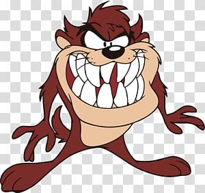 Tazmanian Devil illustration, Tasmanian devil Looney Tunes Marvin the Martian Bugs Bunny, others PNG