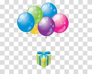 Balloon Happy Birthday Greeting & Note Cards , Ulang Tahun PNG clipart