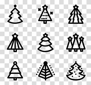 Christmas Tree Icon Png.Christmas Tree Line Symmetry Symbol Pattern India Chapter