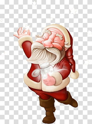 Santa Claus Digital art , santa claus PNG
