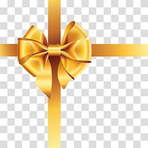 Ribbon Gold , gold ribbon PNG