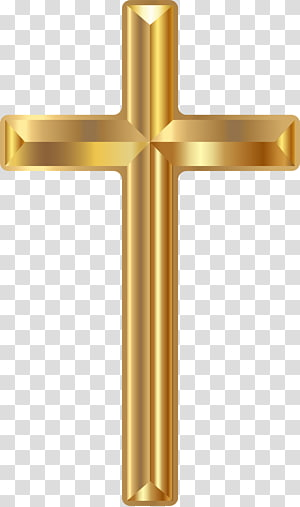 gold-colored cross illustration, Christian cross , Christian Cross PNG clipart