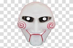 Jigsaw Mask Billy the Puppet Headgear, Mask PNG clipart
