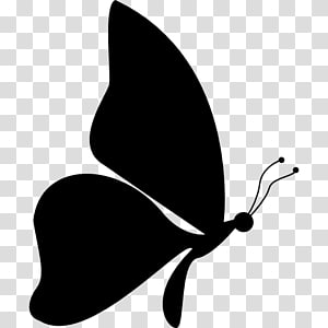 Butterfly Silhouette Drawing , butterfly PNG clipart