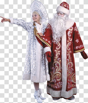 Santa Claus Robe Christmas ornament Outerwear, Santa PNG clipart