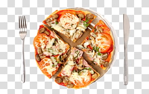 Pizza Fast food Hamburger Hot dog Lasagne, Western\'s Pizza PNG clipart