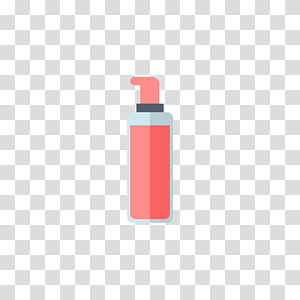 Bottle Red Pattern, perfume PNG clipart