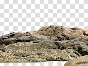 cluster of brown rocks, Rock The Sea , stone PNG clipart