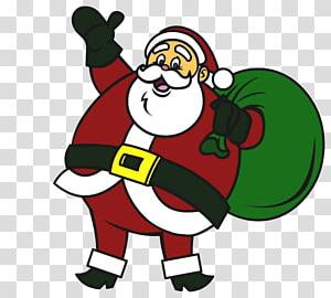 Santa Claus Reindeer Drawing Christmas, santa claus PNG clipart