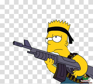 Bart Simpson Maggie Simpson Homer Simpson Marge Simpson Ned Flanders, simpsons PNG