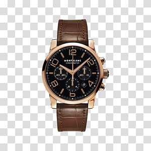 Montblanc Automatic watch Chronograph Movement, watch PNG