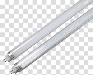 Light-emitting diode Fluorescent lamp LED lamp LED tube, light PNG