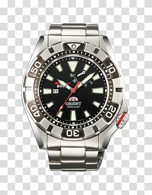 Orient Watch Diving watch Power reserve indicator Automatic watch, Automatic Watch PNG clipart