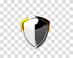 Metal Silver Shield, Metal Shield PNG