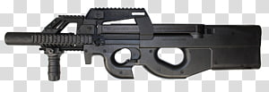 Airsoft Guns Firearm FN P90 FN Herstal, Military Tactics PNG