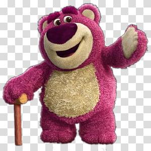 Toy Story 3 Lotso, Buzz Lightyear Lots-o\'-Huggin\' Bear Toy Story Teddy bear, toys PNG clipart