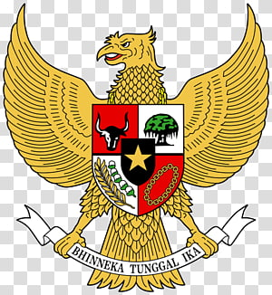 Bhinneka Tunggal Ika logo, National emblem of Indonesia Coat of arms Garuda Pancasila, pancasila PNG clipart