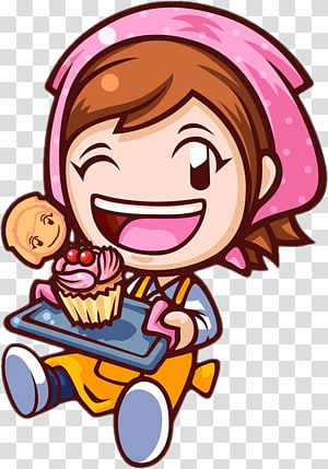 Cooking Mama 4: Kitchen Magic Oatmeal Raisin Cookies, cooking PNG clipart