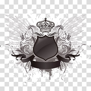 wings shield PNG clipart