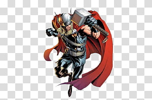 Thor: God of Thunder Valkyrie Marvel Comics Comic book, others PNG clipart