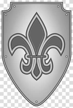 Middle Ages Shield Knight Coat of arms , shield PNG