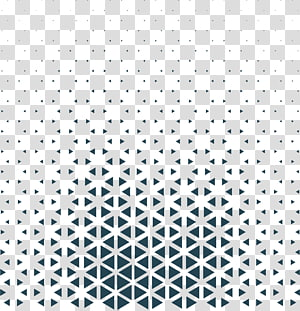 Triangle Black and white Pattern, Blue Technology Triangle, black graphic PNG