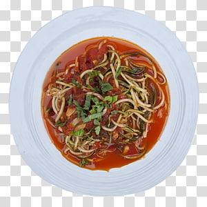 Spaghetti alla puttanesca Chinese noodles Pasta al pomodoro PNG clipart