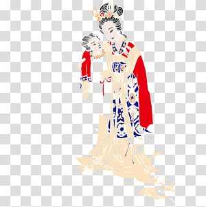 Japan Woman Cartoon, Japanese woman PNG