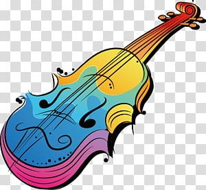 Music Illustrations Musical instrument Violin Illustration, violin PNG