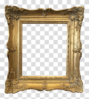 square brown wooden frame, Frames Gold Vintage clothing , vintage frame PNG clipart