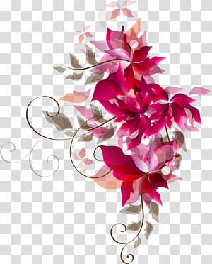 Flower , Rose red flower PNG