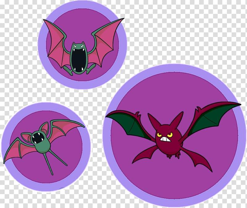 Crobat Golbat Pokémon brillant Zubat, green fleshy PNG