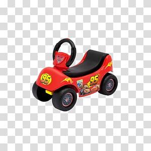 Lightning McQueen Pixar Cars Disney Happy Hauler Ride On The Walt Disney Company, mattel toys disney cars cars 3 wally hauler exclus PNG clipart