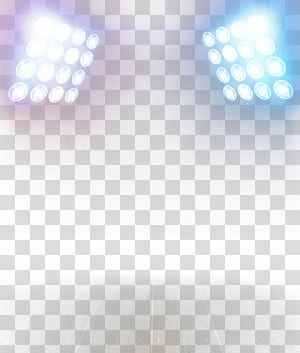 Light, Creative lighting effects, two white spotlights PNG clipart