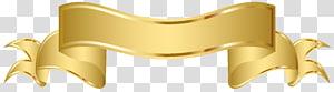 Gold Web banner , Gold Banner s PNG