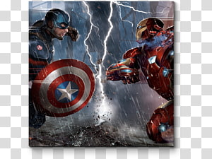 Captain America Iron Man Black Widow Thor Hulk, captain america PNG clipart