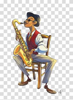 Saxophone Trumpet Tuba Mellophone, Saxophone PNG