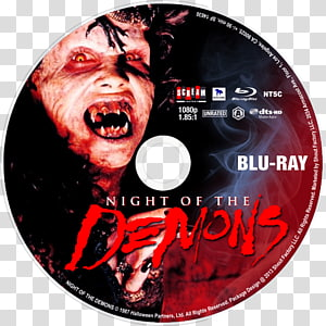 DVD Night of the Demons Blu-ray disc Film Album cover, dvd PNG