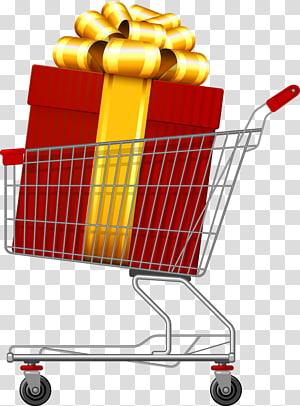 Shopping cart software, cart PNG