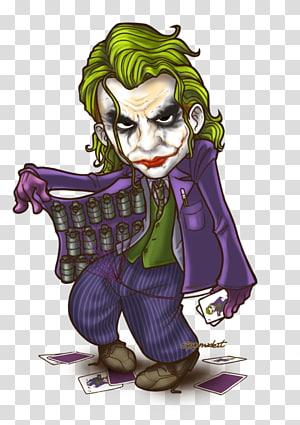 Joker Batman Harley Quinn Riddler Chibi, VİLLAİN PNG clipart