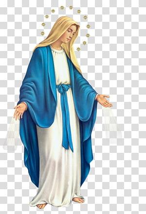 Virgin Mary illustration, Lumen gentium Rosary Immaculate Conception Prayer Militia Immaculatae, prayer PNG