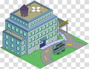 The Simpsons: Tapped Out Dr. Hibbert Homer Simpson Mercy Hospital Springfield, others PNG
