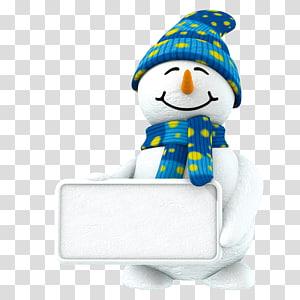 Snowman holding signage , Amazon.com Snowman Illustration, snowman PNG clipart
