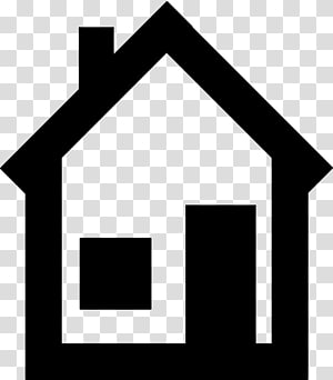 House Black and white , House PNG clipart