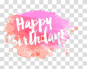 drawing ink happy birthday PNG clipart