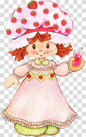 Strawberry Shortcake Paper doll, doll PNG clipart
