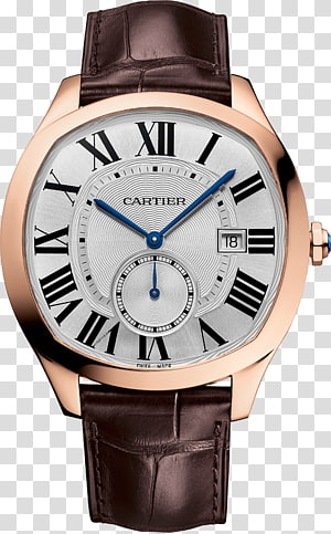 Cartier Automatic watch Jewellery Counterfeit watch, watch PNG clipart